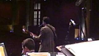 """John Pizzarelli Quartet and the UMSL Jazz Ensemble - 04-18-09 - """"Wee Small Hours"""" - Rehearsal"""