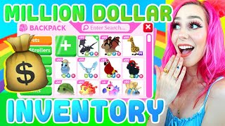 SUEPR RICH INVENTORY! Over 1000 Pets! Roblox Adopt Me Backpack Update