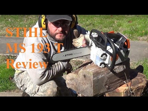 Stihl MS 193 T Chainsaw Review