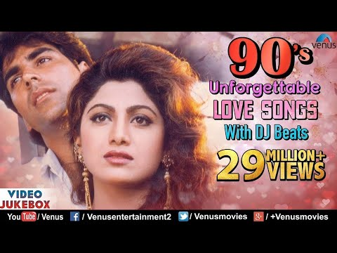 90'S Unforgettable Hits : Romantic Love Songs With JHANKAR BEATS | Video Jukebox - Hindi Songs