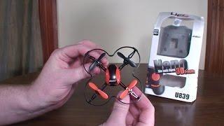 UDI R/C - U839 Nano Quadcopter - Review and Flight