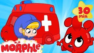 Morphle is HURT! - Ambulance Morphle | Cartoons for Kids | Mila and Morphle | Morphle TV