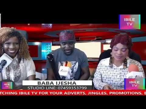 INTERVIEW WITH BABA IJESHA & BEEBEE BIOLA (HOST) IYABADAN AUTHENTIC 18/4/19.