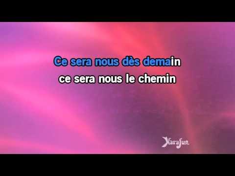 Karaoké L'envie d'aimer - Les Dix Commandements *