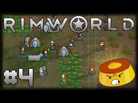 A GANGUE PUDINESCA DO RIMWORLD - Ep 4 - O REI DO GADO, Trocas e Rato Louco!!