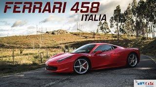 FERRARI 458 ITALIA - Um Dos Mais Elegantes De Sempre?