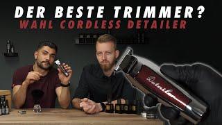 Der beste Trimmer für den Barbershop? WAHL Cordless Detailer I Charlemagne Premium