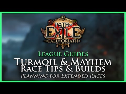 Poe Turmoil Race Builds