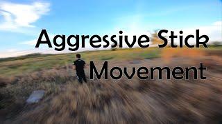 """FPV Drone aggressive stick movement """" RAW FOOTAGE """""""