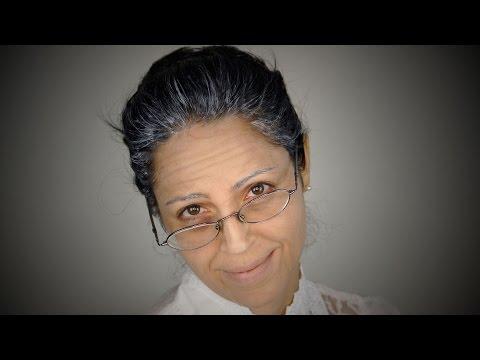 Tú a los 70 años! Maquillaje de Vieja para Fiesta de Disfraz - Halloween