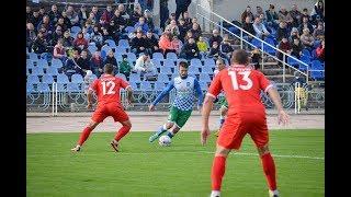 Кристалл-Горняк 2:0 (голы). 2 лига, 15 тур. 27.10.18