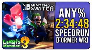 Luigi's Mansion 3   Any% Speedrun In 2:34:48 (World Record)