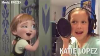 Voices behind Disney Movie songs 🎤 🎵hotvocals
