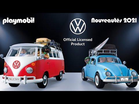 Vidéo PLAYMOBIL Volkswagen 70176 : Volkswagen T1 Combi