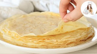How To Make Crepes | French Crepe Recipe