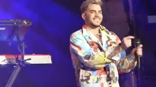 Adam Lambert TOH Huntington - Band Intro / These Boys