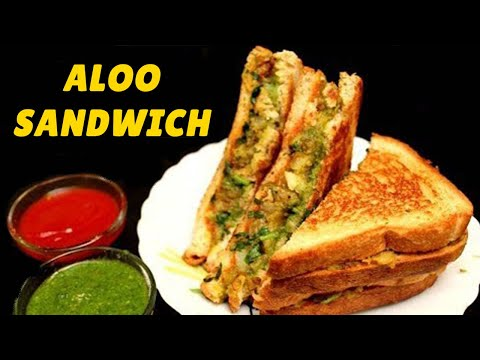 Tasty Aloo Sandwich Recipe | Spicy Potato Sandwich In Hindi | Potato Sandwich Recipe At Home |