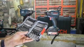 Bosch Drehschlagschrauber 18V - ein kleiner Einblick