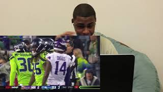 Seahawks vs  Vikings Week 14 Highlights | NFL 2018 | REACTION!!!