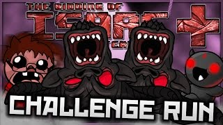 The Binding of Isaac: Afterbirth+: STUCK IN A DANGLE! (Backasswards Challenge)