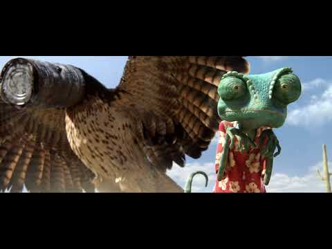 Rango 2011 - Funny Scene in Hindi Dubbed