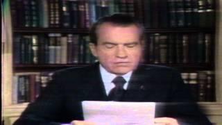 President Nixon on Vietnam peace talks