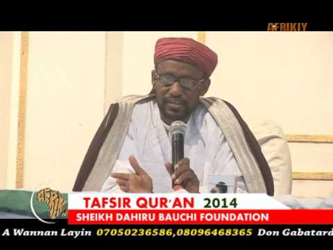 Sayyadi Bashir Shk Dahiru Bauchi Tafsir'14 Day 23rd