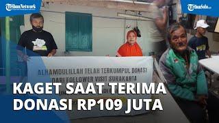 Driver Ojol Korban Begal di Sukoharjo Mengaku Kaget saat Terima Donasi Rp109 Juta, Begini Ceritanya