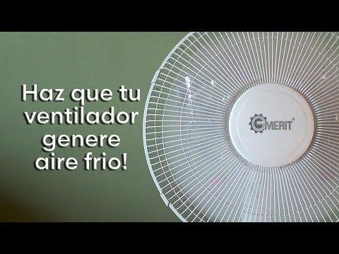 Haz Que Tu Ventilador Genere Aire Frío