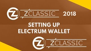 Installing Zclassic Electrum Wallet | Prepare for Bitcoin Private