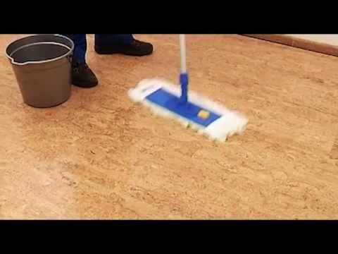 Intensivreiniger für Holz- und Korkböden - Intensivreinigung von Parkett und Kork