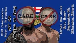 UFC 215 Johnson vs Borg Care/Don