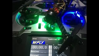 WFLY ET16 how to bind to FUTABA XK X130-T Micro FPV Sport Drone in DRONE ROOM FLIGHT REVIEW