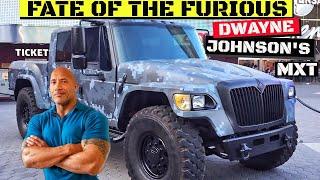 """Dwayne Johnson's"" ""Hobbs""  International MXT from Fate of the Furious"