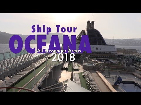 P&O OCEANA 2018 fantastic full ship tour – post refit