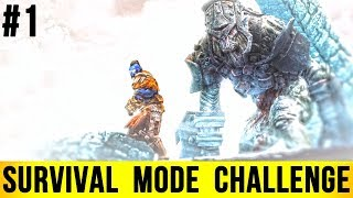 Skyrim SURVIVAL MODE Walkthrough - CHALLENGE