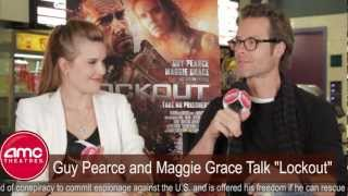 Guy Pearce And Maggie Grace Talk Lockout