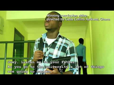 Global Dialogues Peer Pressure Video Challenge, winning video from Ghana