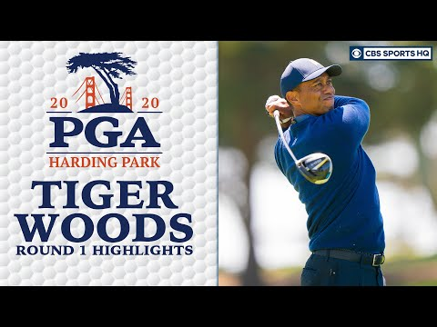 Tiger Woods Highlights: Early start brings success | 2020 PGA Championship – Round 1 | CBS Sports HQ