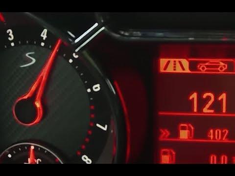 2015 Opel Adam S 0-100 kmh kph 0-60 mph Tachovideo Beschleunigung Acceleration