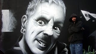 John Lydon by Paw Ski - Sheffield Graffiti
