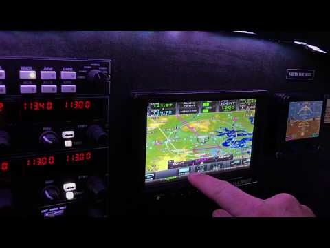 The GTN 750 Is Finally Working On The Touchscreen – On The Glideslope