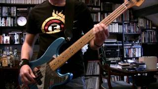 IRON MAIDEN - Mother Russia Bass Cover (Real Steve Harris Solo)