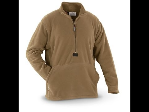 USMC Polartec Fleece Pullover - Military Surplus Preview