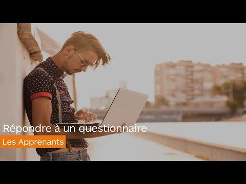 Questionnaires - Répondre à un questionnaire - les apprenants