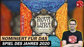 Nova Luna (Uwe Rosenberg, Edition Spielwiese / Pegasus 2020) nominiert zum Spiel des Jahres 2020