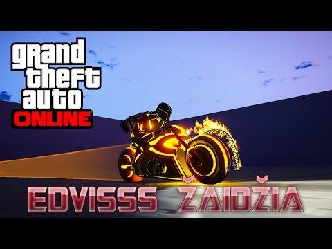 Edvisss Žaidžia - GTA Online #18 TRONAS!! :OO