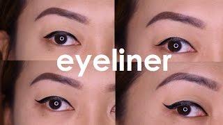 Paano Mag-EYELINER? Para sa BAGUHAN (Different Eyeliner Looks)