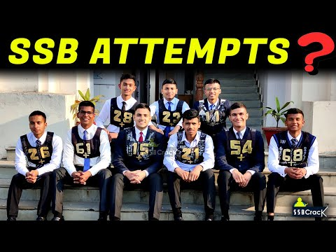 SSB Interview Number of Attempts – How Many Times Can You Go For SSB Interview?