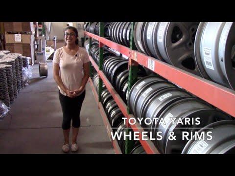 Factory Original Toyota Yaris Wheels & Toyota Yaris Rims – OriginalWheels.com